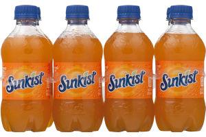 Sunkist Soda Bottles - 8 CT