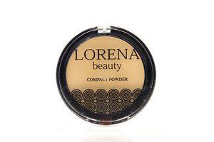 Пудра компактная №P01 LORENA beauty 11,5г