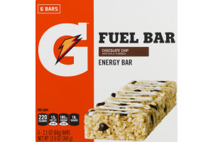 Gatorade Fuel Bar Chocolate Chip - 6 CT