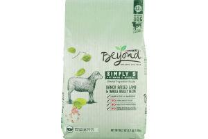 Purina Beyond Natural Dog Food Simply 9 Ranch Raised Lamb & Whole Barley Recipe