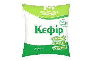 Кефір 3,2% 500г п/е