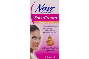Nair Hair Remover Face Cream Moisturizing