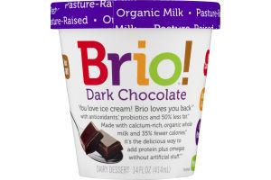 Brio! Dairy Dessert Dark Chocolate