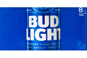 Bud Light Cans - 8 PK