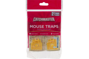 Catchmaster Mouse Traps - 2 CT