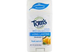 Tom's Of Maine Deodorant Fresh Apricot