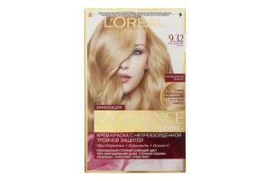 Крем-краска для волос Excellence №9.32 L'Oreal