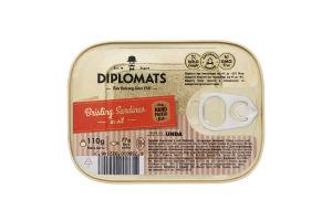 Сардини в олії Brisling Sardines Diplomats з/б 110г
