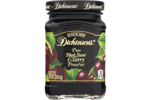 Dickinson's Pure Black Sweet Cherry Preserves