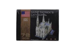 Пазл Ling Le Si 3D Собор Святого Патрика 102996