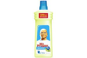 Средство для мытья полов и стен Бодрящий лайм и мята Mr.Proper 750мл