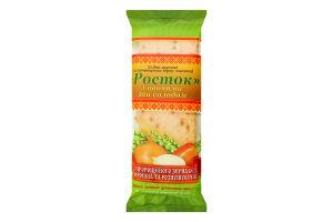 Хлібці хрусткі з пророщених зерен пшениці з овочами та солодом Росток м/у 120г