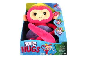 Игрушка для детей от 2 лет мягкая интерактивная обезьянка-обнимашка Белла Fingerlings Wow Wee 1шт