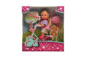 Лялька для дітей від 3-х років №5731715 My first bike Evi love Simba 1шт