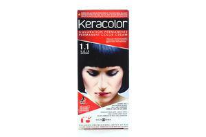 Крем-краска для волос №1.1 Keracolor