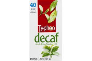 Ty-phoo Tea Bags Decaf - 40 CT