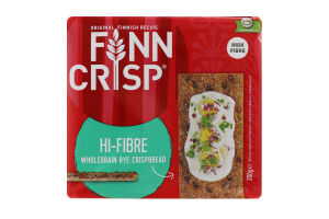 Хлібці з висівками Hi-fibre Finn Crisp м/у 200г