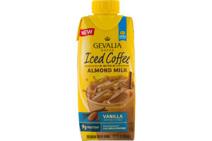 Gevalia Kaffe Iced Coffee with Almond Milk Vanilla