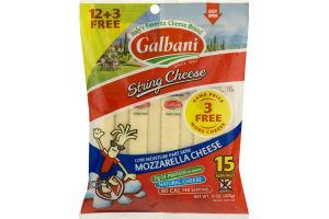 Galbani String Cheese Mozzarella - 15 CT
