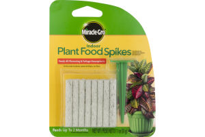 Miracle-Gro Plant Food Spikes Indoor