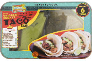 Calle Sabor Diced Chicken Breast Taco Kit