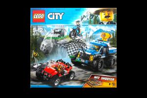 LEGO® City Police Погоня по грунтовой дороге 60172