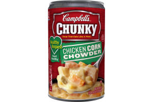 Campbell's Chunky Soup Chicken Corn Chowder