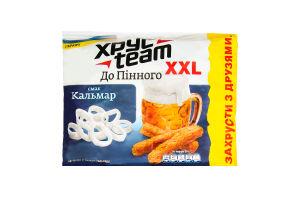 Сухарики хрустящие со вкусом кальмара Хрусteam м/у 110г