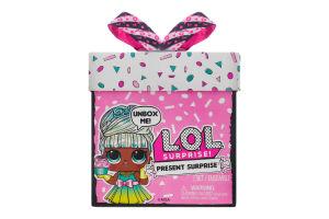 Набір ігровий для дітей від 3років з лялькою №570660 Present Surprise L.O.L. Surprise! 1шт