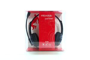 Навушники з гарнітурою Microlab K290