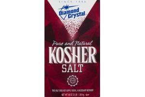 Diamond Crystal Pure and Natural Kosher Salt
