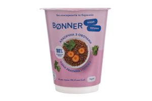 Каша гречана класична з овочами Bonner ст 60г