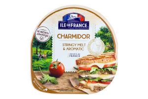 Сир 57% напівтвердий Charmidor Ile De France лоток 150г