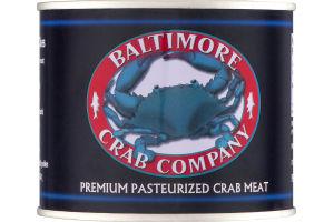 Baltimore Crab Company Premium Pasteurized Crab Meat