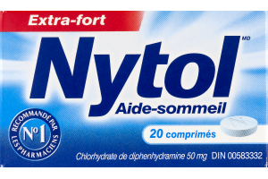 (CN) Nytol Aide-Sommeil Comprimes - 20 CT, Nytol Sleep Aid Tablets - 20 CT
