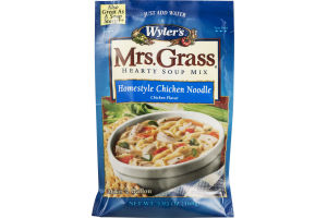 Wyler's Mrs. Grass Hearty Soup Mix Homestyle Chicken Noodle