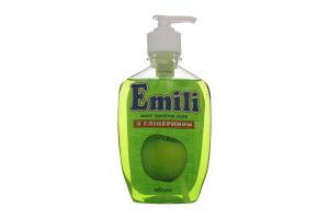 Мыло жидкое Эмили Яблоко с глицирином