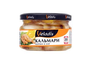 Кальмары Veladis копченые в масле с/б