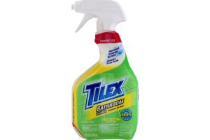 Tilex Bathroom Cleaner, Spray Bottle, Lemon, 32 Ounces