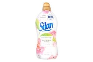 Смягчитель концентрированный Peony&White tea Silan 1.8л