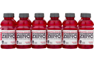 Powerade Zero Sports Drink Fruit Punch - 12 PK
