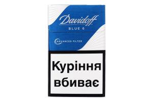 Цигарки Davidoff Advanced Filter Blue 6