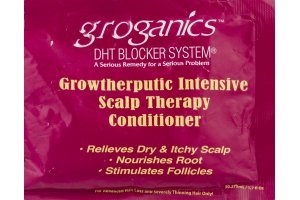 Groganics DHT Blocker System Growtherputic Intensive Scalp Therapy Conditioner
