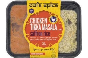 Cafe Spice Chicken Tikka Masala With Saffron Rice Medium