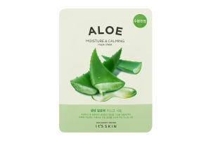 Маска для обличчя тканинна Aloe It's Skin 18г