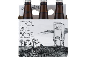 Off Color Brewing Trouble Some Gose Style Beer - 6 PK