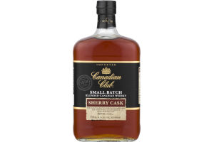 Canadian Club Small Batch Sherry Cask Canadian Whisky
