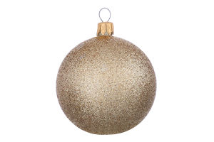 Прикраса новорічна 6см Куля пластикова Mislt 1шт