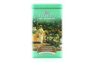 Чай Hyleys Англійський зелений з жасмином з/б 125г