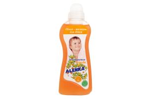 Пенка-шампунь для волос детская с экстрактом череды Alenka 500г